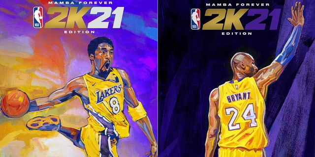 Kobe Bryant will be featured on the 'Mamba Forever' edition of NBA 2K21. (Business Wire via AP)
