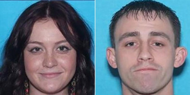 Kristin Nicole Begue and Randy Lee Cooper were both arrested after crashing into each other while both were driving stolen vehicles, police said.