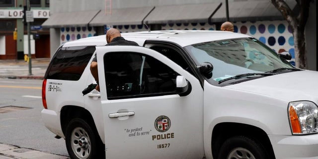 A Los Angeles police officer died from the coronavirus Friday, marking the first officer in the department to succumb to the illness. (Los Angeles Police Department)