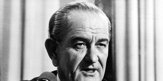 President Lyndon B. Johnson.