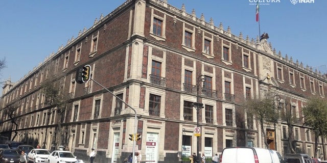 The Nacional Monte de Piedad building in Mexico City. (Photo: Raúl Barrera R./PAU-INAH)