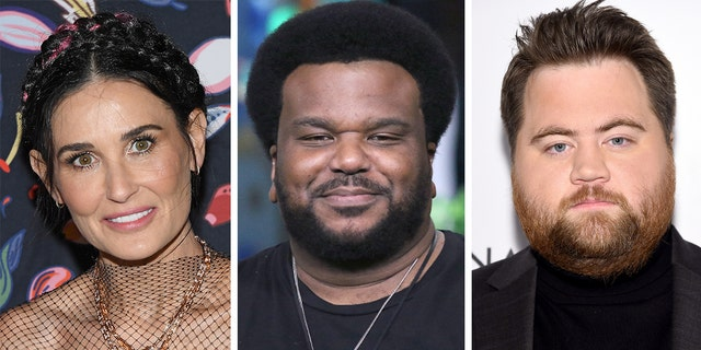 Demi Moore (left), Craig Robinson (center) and Paul Walter Hauser are set to star in 'Songbird.'