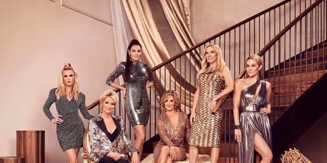 Tinsley Mortimer, Dorinda Medley, Luann de Lesseps, Sonja Morgan, Ramona Singer, Leah McSweeney of 'The Real Housewives of New York.'
