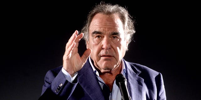 Director Oliver Stone introduces