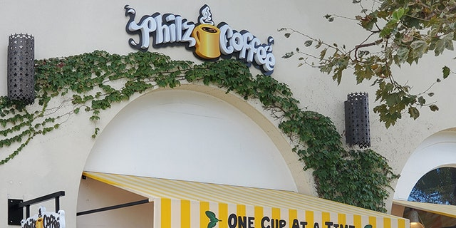 A Philz Coffee location in Lafayette, California, is pictured in 2019. (iStock)