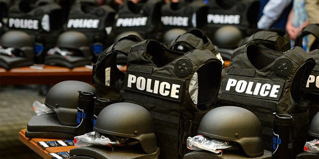 A Virginia defense contractor is accused of selling Chinese-made body armor to the American military and federal agencies, according to the Justice Department.(Photo by Helen H. Richardson/The Denver Post via Getty Images)