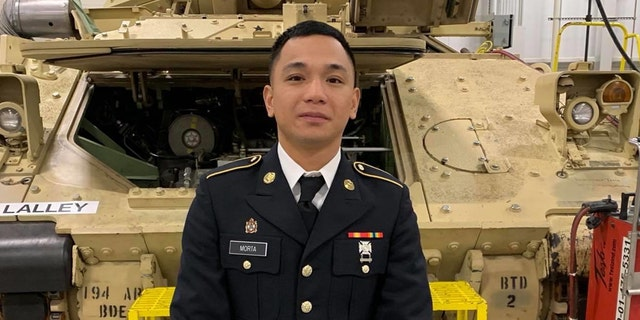 Pvt. Mejhor Morta, 26, who was stationed at Fort Hood, was found unresponsive July 17 in the vicinity of Stillhouse Lake. (Fort Hood Press Center)