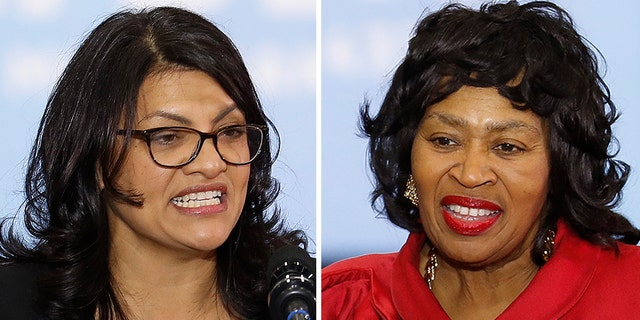 Voters will decide the contentious primary between Rep. Rashida Tlaib, D-Mich., and her primary challenger Brenda Jones Tuesday.