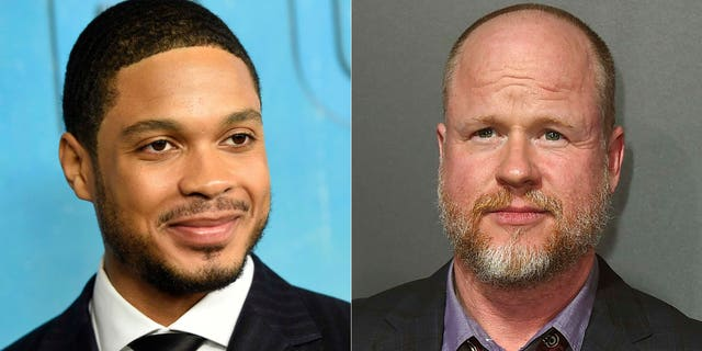 Ray Fisher (L), who played Cyborg in the DC Comics film, 'Justice League,' directed by Joss Whedon (R), recently detailed further how Whedon was allegedly unprofessional during reshoots after he stepped in for original director Zack Snyder.