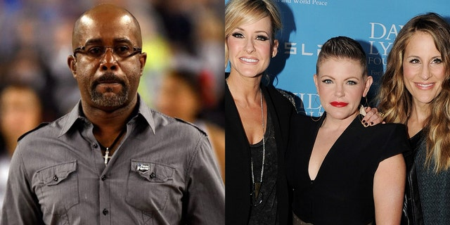 Darius Rucker called The Chicks' blacklisting in country music 'the dumbest thing.'