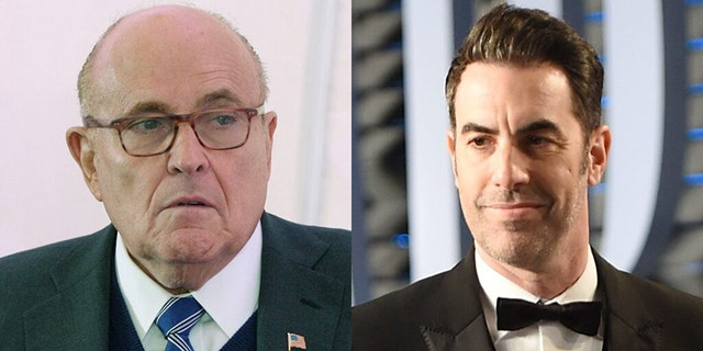 Rudy Giuliani revealed that he believes Sacha Baron Cohen was trying to keep him.