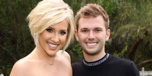 Reality TV Personalities Savannah Chrisley (left) and Chase Chrisley said there was 'pressure' growing up on television. (Photo by Paul Archuleta/Getty Images)