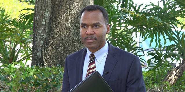 FBI Supervisory Special Agent Keith Givens (pictured) explains that they have seen an increase of over 100 percent in scams during the coronavirus pandemic (Robert Sherman, Fox News).
