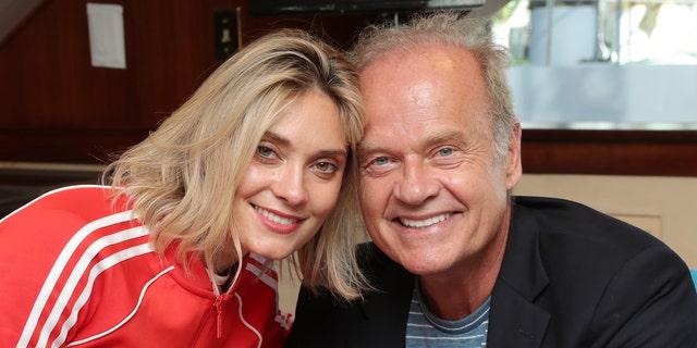 Spencer Grammer and Kelsey Grammer in 2019. (Rich Polk/Getty Images for IMDb, File)