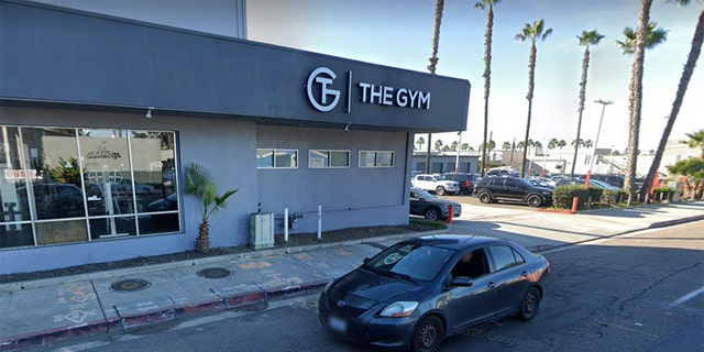 """The Gym"" on Garnet Avenue in Pacific Beach"