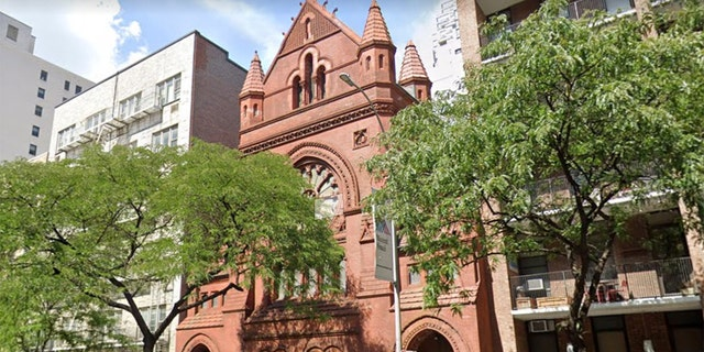 The Trinity Presbyterian Church is located in midtown Manhattan.