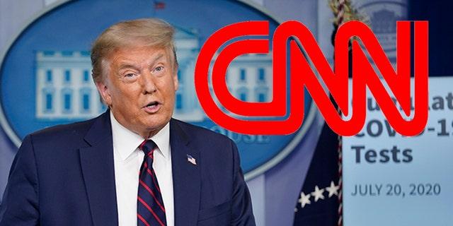 (AP Foto / Evan Vucci)A Georgia judge dismissed the Trump campaign's libel lawsuit against CNN on Thursday.