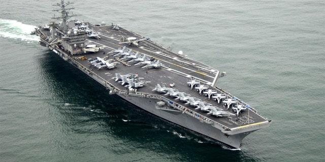 The aircraft carrier USS Nimitz (CVN 68). (U.S. Navy photo by Mass Communication Specialist 3rd Class John Philip Wagner Jr./Released)