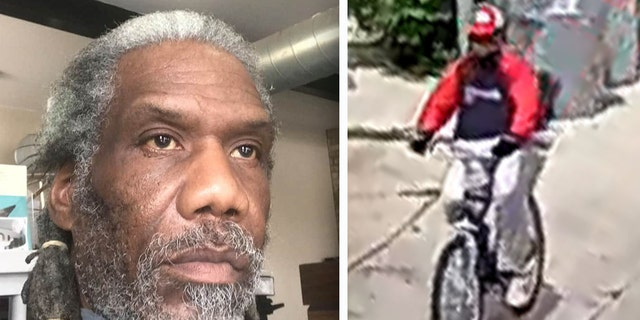 Bernell Trammell, left, was a recognizable community figure; Milwaukee police released an image, right, of a person wanted in connection to the shooting of Trammell. (Milwaukee Police Department)