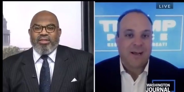 CSPAN host Jesse J. Holland was scolded by Trump 2020 advisor Boris Epshteyn.