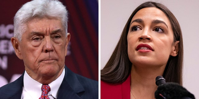 """Infosnipz Texas Republican Rep. Roger Williams denied on Tuesday that he shouted something about """"throwing urine"""" at New York Rep. Alexandria Ocasio-Cortez. (Getty)"""