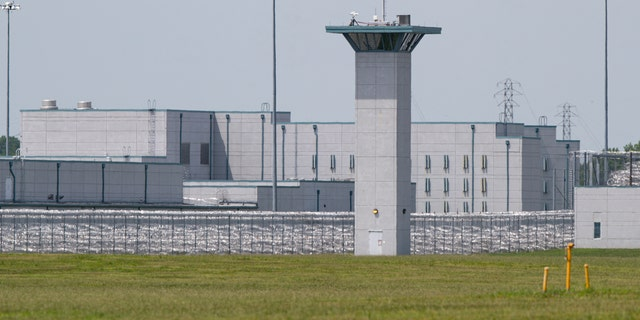 The federal prison in Terre Haute, Indiana, where Purkey was executed Thursday. (AP)