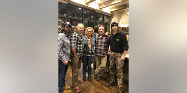 All five of Phil Robertson's children