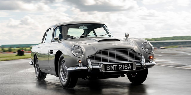 Aston Martin selling new 007 'Goldfinger' DB5s for millions