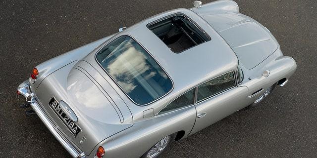 Westlake Legal Group am7 Aston Martin selling new 007 'Goldfinger' DB5s for millions Gary Gastelu fox-news/auto/make/aston-martin fox-news/auto/attributes/collector-cars fox news fnc/auto fnc article 72d15de9-d090-5485-b77a-c6071265d0d7
