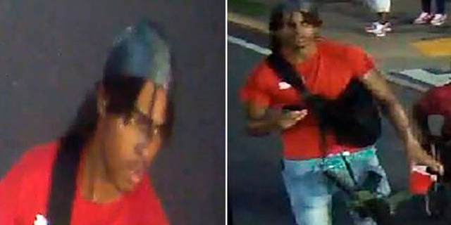 An image from video released by the Atlanta Police Department shows a person of interest in the shooting death of 8-year-old Secoriea Turner.