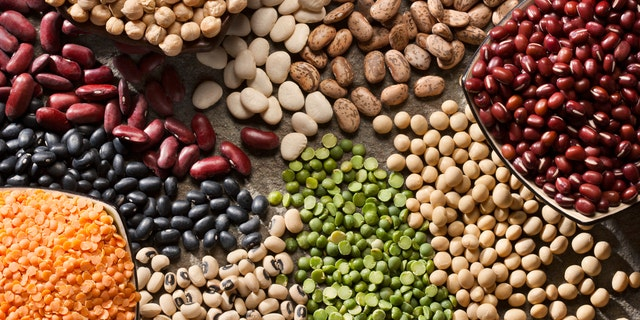 Beans and other legumes are a good source of plant-based protein.