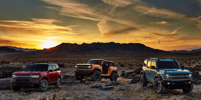 The Bronco Sport will be sold alongside the 2-door and 4-door Bronco.​​​​​