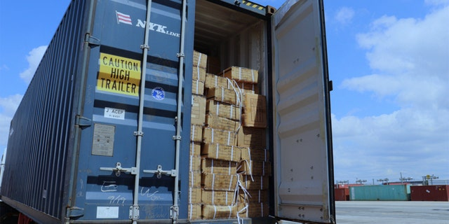 US Customs and Border Protection detained the shipment, worth more than $800,000, as part of a June 17 order to ports nationwide. (CBP)