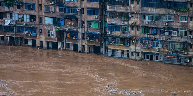 A wide swath of southern China braced Sunday, July 5, 2020 for more seasonal rains and flooding.