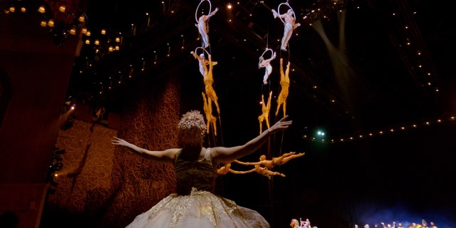 Cirque du Soleil currently has six shows performing on the Strip, as well as the Blue Man Group.