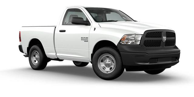 The two-door Tradesman is the lowest-price Ram 1500.
