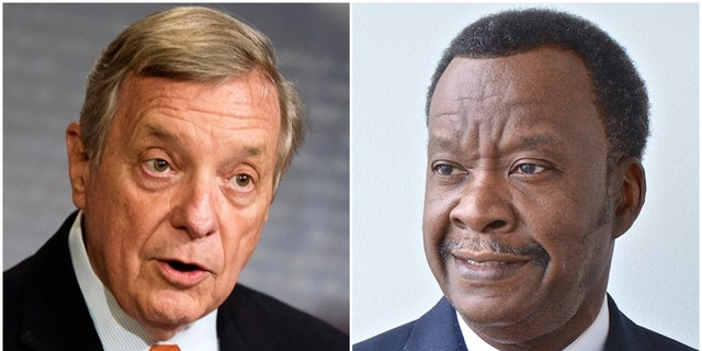 U.S. Sen. Dick Durbin, D-Ill., left, will be seeking a fifth term but challenger Willie Wilson, an independent, hopes to unseat him.