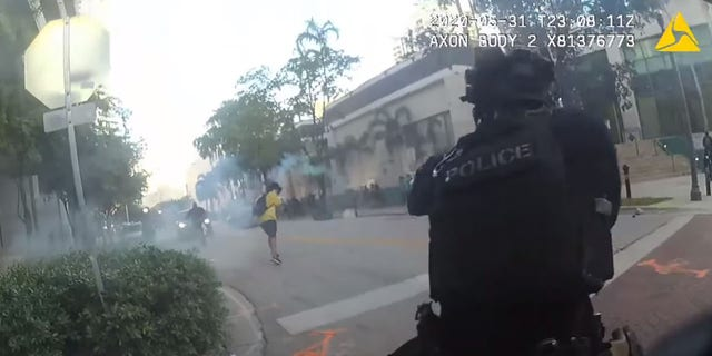 Florida Cops Laugh After Shooting Protesters With Rubber Bullets