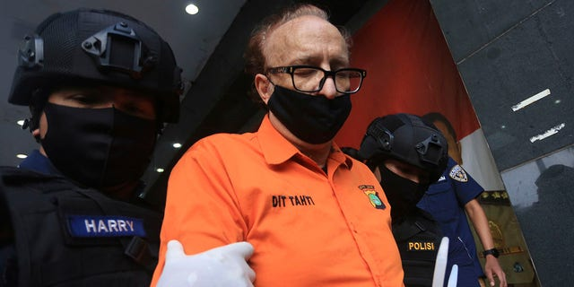 Abello, the French man accused of molesting over 300 Indonesian children, has died after apparently trying to kill himself in detention, police said Monday. (AP Photo, File)