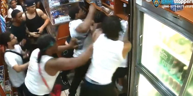 Vicious July 7 assault recorded in a New York City bodega caused injuries to a 41-year-old man and his 22-year-old daughter.