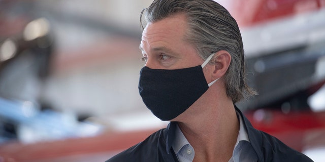 California Gov. Gavin Newsom is among the U.S. governors who have ordered their states to wear face masks in most public spaces. (AP)