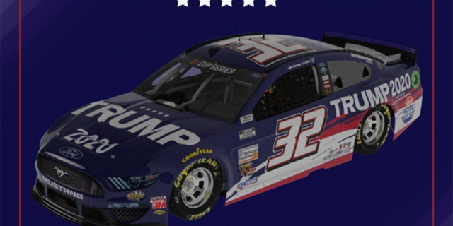NASCAR's Corey LaJoie Debuting 'Trump 2020' Car at Brickyard 400