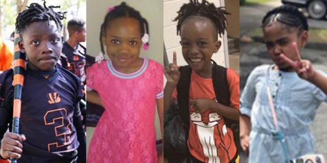 The victims, from left to right: Davon McNeal, Natalia Wallace, Royta Giles Jr. and Secoriea Turner. (Handouts)
