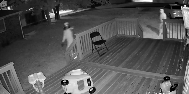 Police released surveillance video of three individuals who killed a sleeping 19-old-month child when they shot up a home in Canton, Ohio, early Wednesday.<br> .