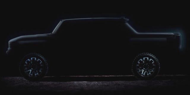 GMC Hummer EV previewed ahead of autumn reveal