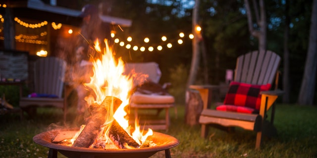 """Wood fire pits are """"typically the most affordable options and quickest to install."""""""