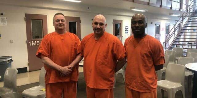 Three inmates of the Gwinnett County Jail in Georgia have been credited with helping to save a deputy's life. (Gwinnett County Jail)