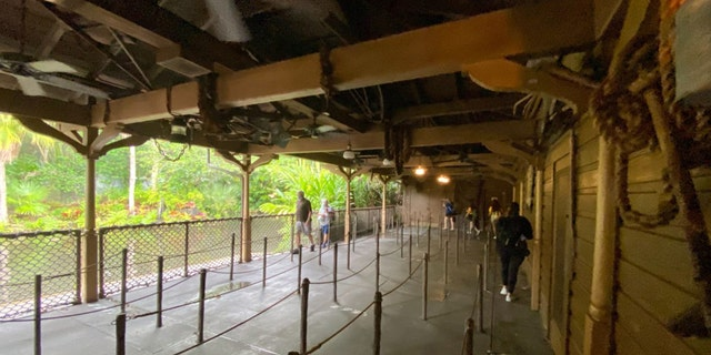 As seen in alleged images published by Disney fan site WDW News Today, new partitions and safety signage were seen throughout the Jungle Cruise attraction at Magic Kingdom.
