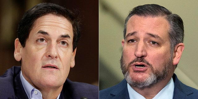 Mavericks owner Mark Cuban has Twitter spat with Ted Cruz