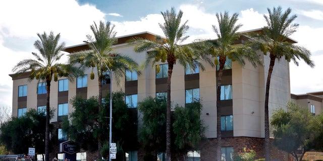 HAMPTON Inn shown on Tuesday, May 21, 2020 in Phoenix. (AP Photo horse New York)